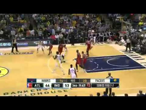 Atlanta Hawks Vs Indiana Pacers - NBA Playoffs 2013 Game 5 - Full Highlights 5/1/13