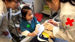 어린이 리얼 직업체험 테마파트 키즈앤키즈를 다녀왔어요 (3편) 서은이의 의사 체험 병원 Hospital Professional Experience
