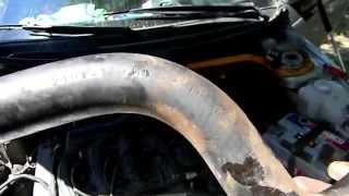 Замена патрубков радиатора ВАЗ 2110-2112