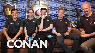 "Conan Plays ""Clash Royale"" With compLexity & Google Play"