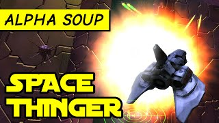 Space Thinger gameplay: thrilling arcade dogfighting game | Alpha Kickstarter Demo