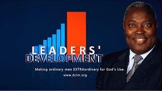Le développement du leadership (Nov 12, 2019): La nouvelle compréhension du nouveau commandement