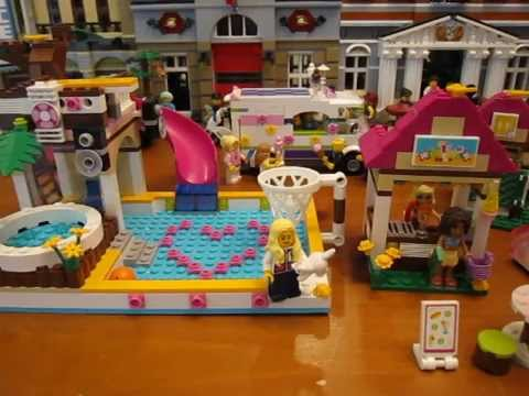 Lego Friends Set 41008 Heartlake City Pool Review Youtube