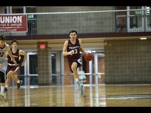 Trinity Men's Basketball vs Springfield College Recap