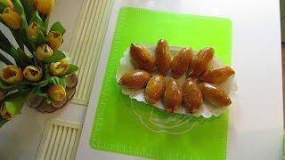 Пирожки с капустой и грибами в хлебопечке.