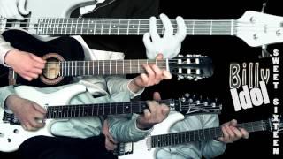 Video Billy Idol - Sweet sixteen (Guitar & Bass cover) download MP3, 3GP, MP4, WEBM, AVI, FLV Juli 2018