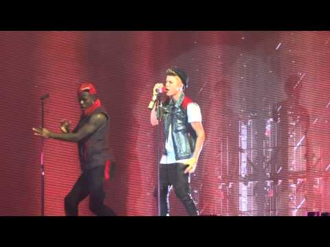 Justin Bieber Rack City - Die in Your Arms Live Montreal 2012 HD 1080P