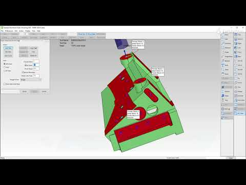Advanced 2D Mill - easy workflow to machine planar faces | SMIRT 2022.0