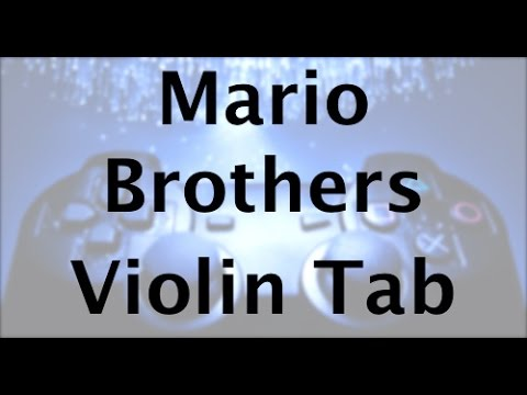 Learn Mario Brothers Theme on Violin - How to Play Tutorial