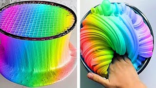 Relaxing Slime Compilation ASMR | Oddly Satisfying Video #104