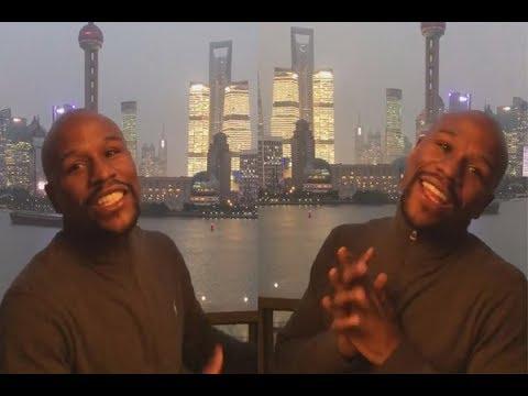 Floyd Mayweather Shanghai China - Instagram Story 2017