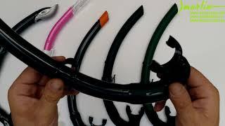 видео Трубка для подводной охоты Marlin CLASSIC SOFT