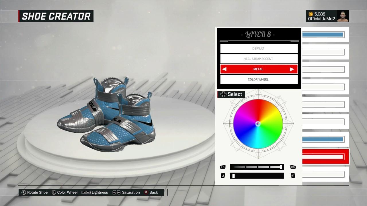 NBA 2K17 Best Shoe Creation Lit