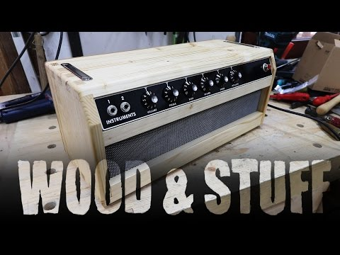 Building a princeton amp cabinet - Part 4 FINAL