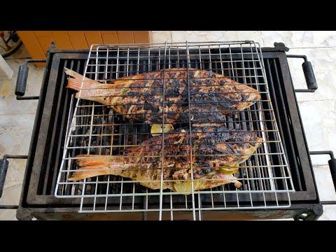 Como preparar Pescado a las Brasas - Receta Deliciosa