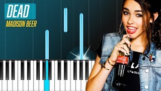 """Madison Beer - """"Dead"""" Piano Tutorial - Chords - How To Play - Cover"""