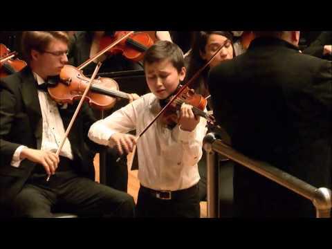 Daniel Lozakovitj -- Menuhin Competition  -- Junior Finals Part 2