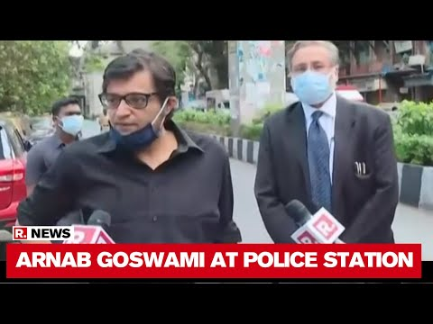'Truth Will Win': Arnab Goswami Speaks Before Mumbai Police Interrogation For Sonia Gandhi Comment