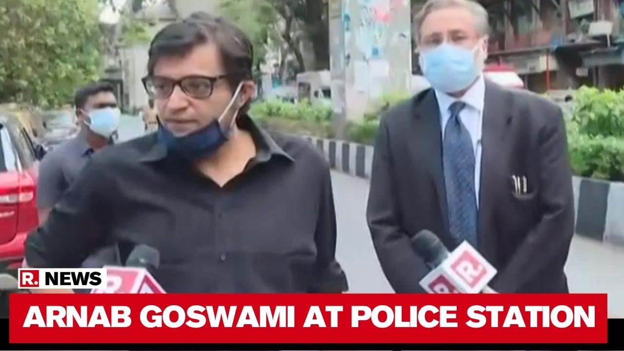 Truth Will Win': Arnab Goswami Speaks Before Mumbai Police ...