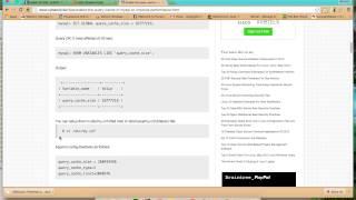 MySQL Query Cache Mp3