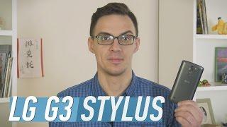 LG G3 Stylus: обзор смартфона