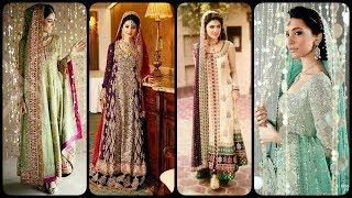 latest Pakistani Engagement Bride look & Style 2020/Stunning Engagement dress Ideas for girls
