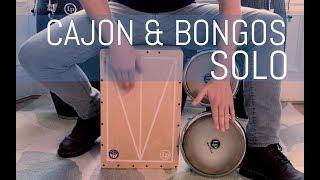 Cajon & Bongos Solo