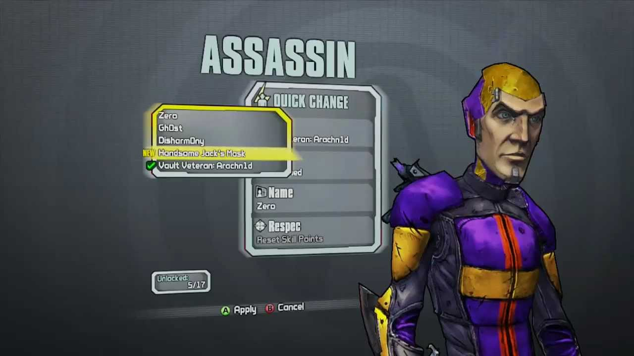 Borderlands 2 How To Unlock Handsome Jacks Face
