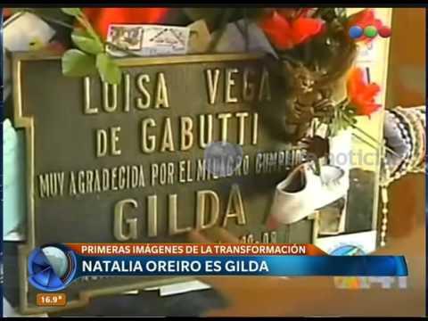 Natalia Oreiro En La Piel De Gilda - Telefe Noticias