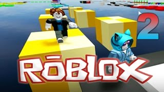CIRCUIT OF 595 OBSTACLES OF JUMPS IN ROBLOX 2!. PleyMoar