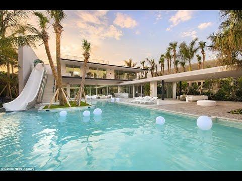 Miami Beach Pinetree Drive Home – 4555 Pinetree Drive - Mid Century Waterfront -  Modern Homes
