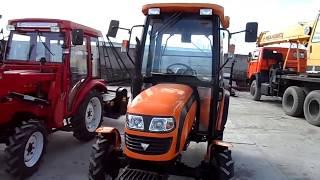 Трактор FOTON TE 244 (с кабиной). Обзор. Спецтехника из Китая.