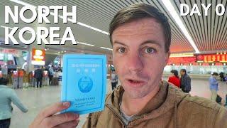 OVERNIGHT TRAIN TO NORTH KOREA (weird border town)