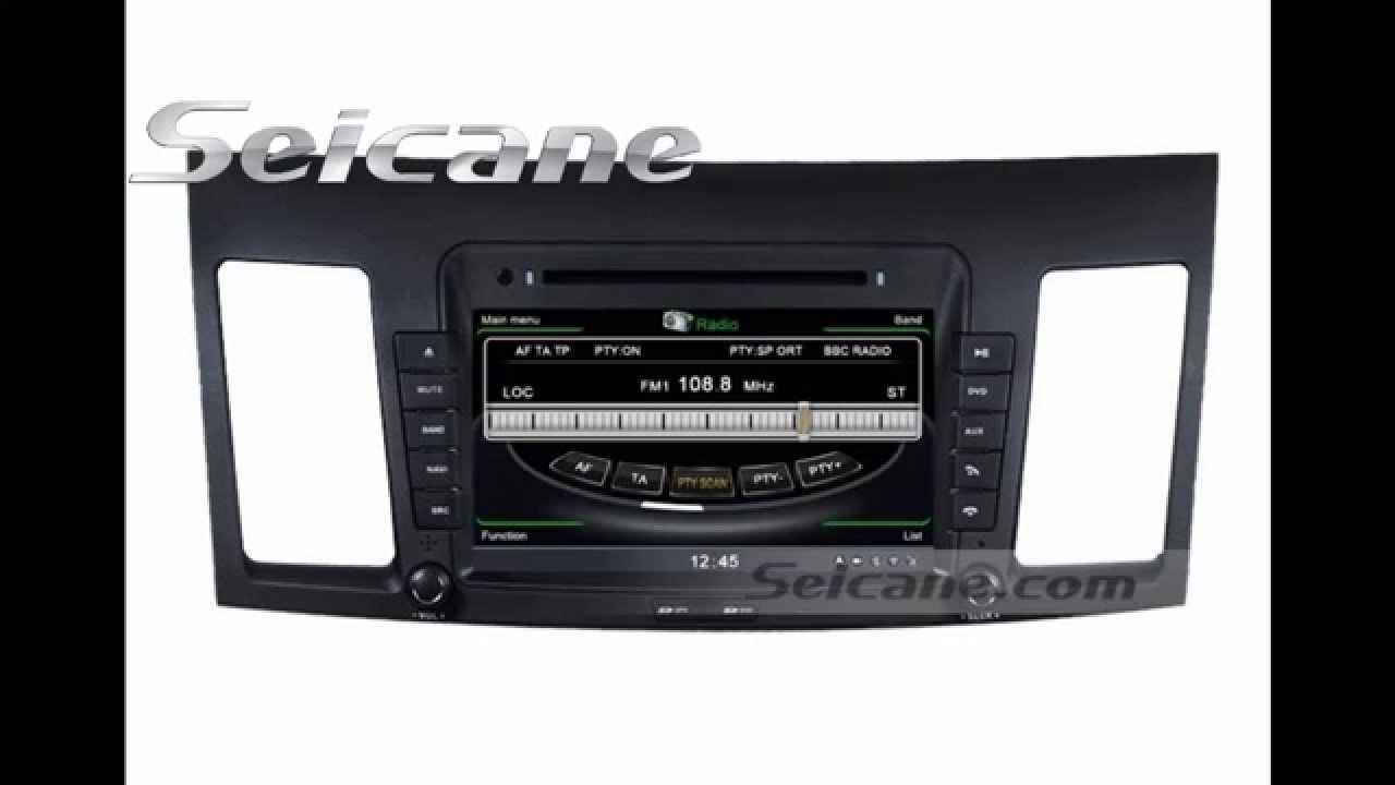 Oem Mitsubishi Lancer Sat Nav Radio Dvd Player Support Hd