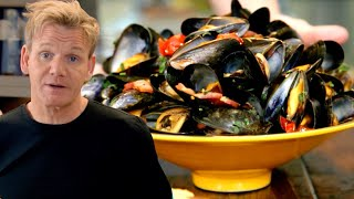 Gordon Ramsay's Steamed Mussels
