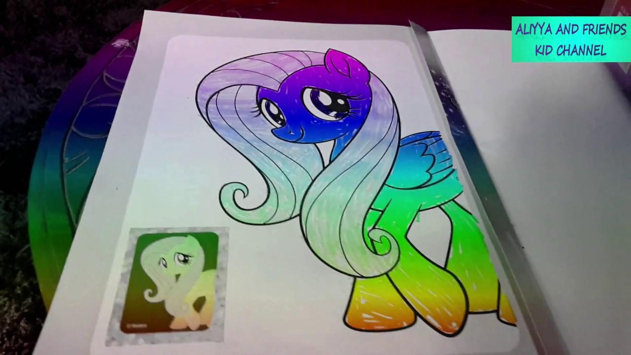 Ayo Mewarnai Gambar The Little Pony Youtube