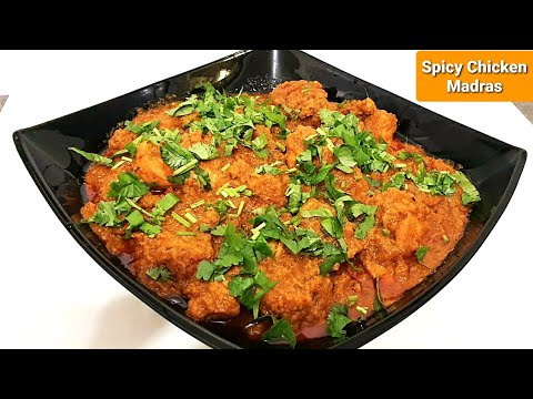 how-to-make-spicy-chicken-madras-||-chicken-madras-recipe