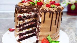 НЕРЕАЛЬНО ВКУСНЫЙ ШОКОЛАДНЫЙ ТОРТ ВКУСНЕЕ Я ЕЩЕ НЕ ГОТОВИЛА Chocolate Cake Recipe