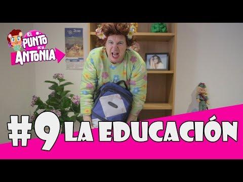 LA EDUCACIÓN...El PUNTO DE LA ANTONIA. (Los Morancos).