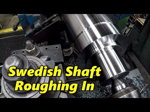 Swedish Gearbox Shaft Part 1