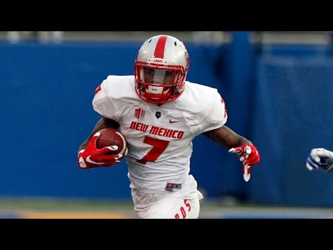 New Mexico RB Teriyon Gipson Explodes For Two Long Scores | CampusInsiders