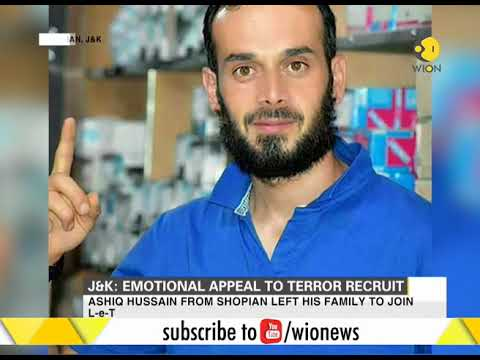 Another emotional appeal to terror recruit to surrender