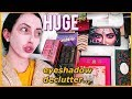 GETTING RID OF 100+ EYESHADOW PALETTES...Huge Makeup Declutter 2019