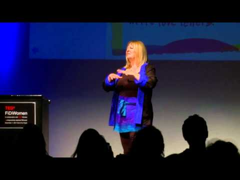 Succulence is powerful: SARK (Susan Ariel Rainbow Kennedy) at TEDxFiDiWomen
