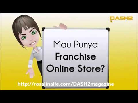 Rahasia Bisnis Online Lewat Smartphone By DASH2 Community | Franchise Online Store Dash2