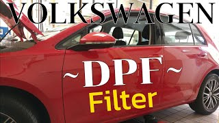 Volkswagen 2.0 tdi - 1.6tdi Wymiana DPF FILTER REPLACEMENT