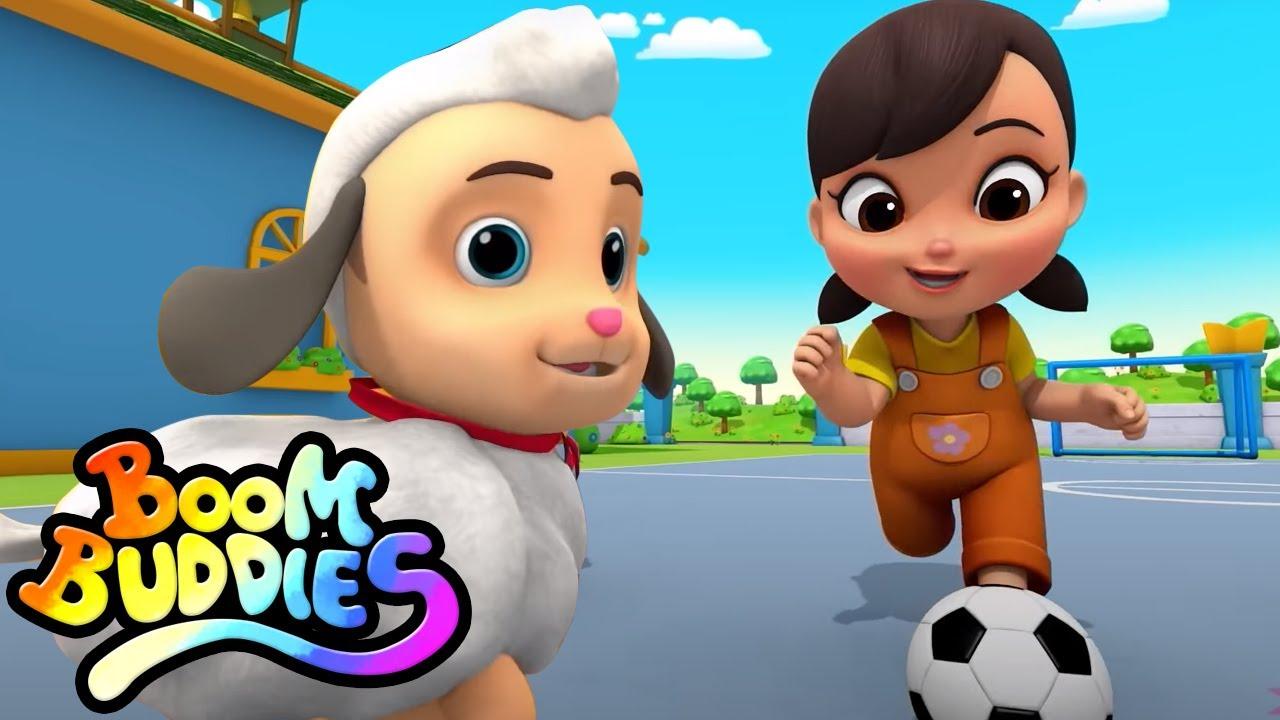 María tenía un corderito | Rimas para niños | Boom Buddies Español | Educación | Videos preescolares