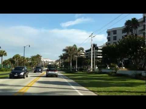 Ocean Boulevard Marathon Route in Southern Florida, USA  Feb. 2012