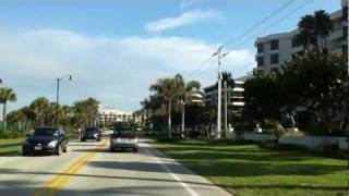 Ocean Boulevard Marathon Route in Southern Florida, USA  Feb. 2012