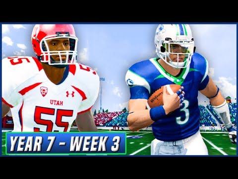 NCAA Football 14 Dynasty Year 7 - Week 3 vs Utah (The Rematch) | Ep.112